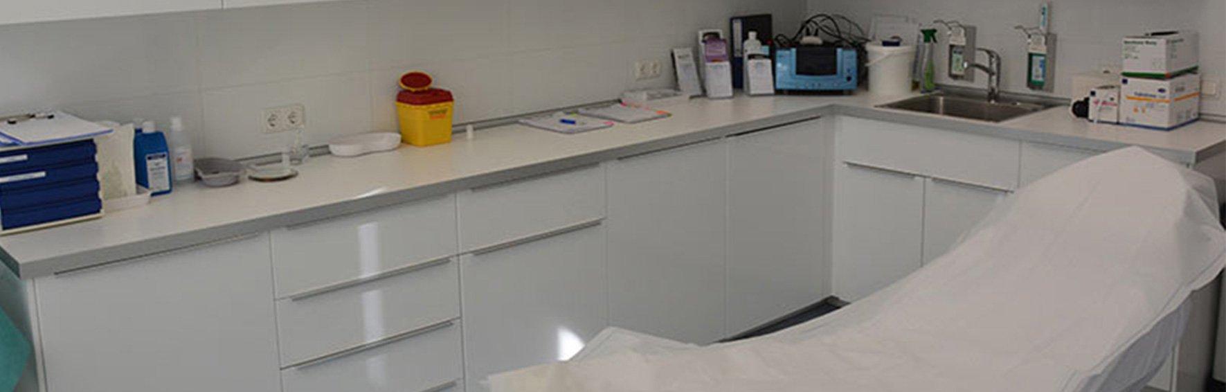Alster-Klinik Hamburg Behandlungszimmer