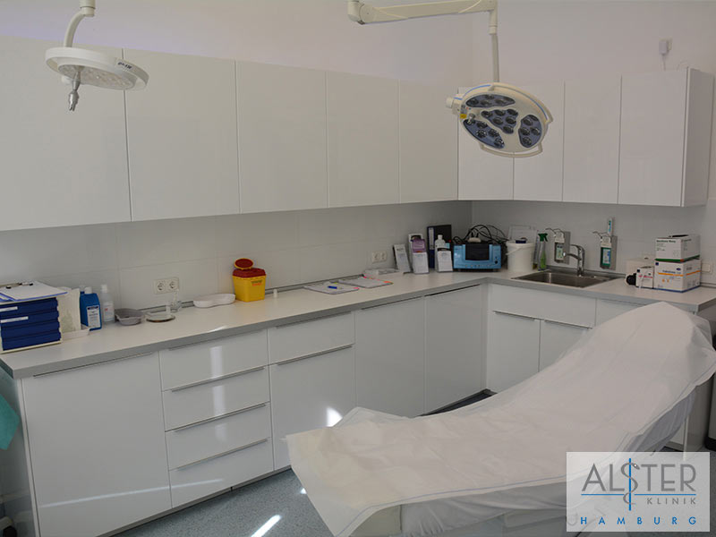 Behandlungszimmer Alster-Klinik Hamburg