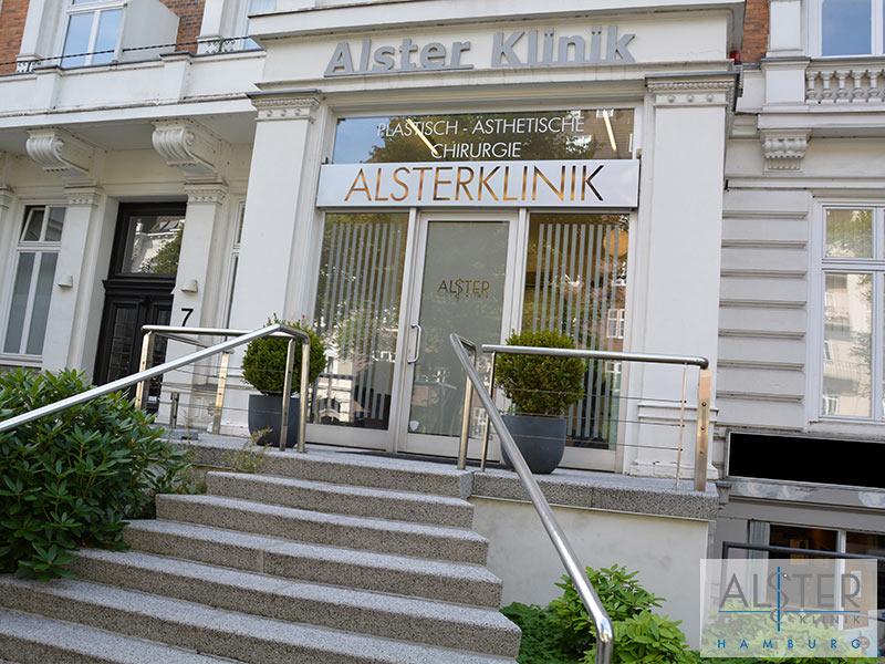 Außentreppe Alster-Klinik Hamburg