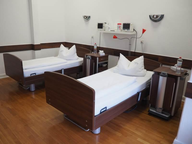 Patientenzimmer Alster-Klinik Hamburg